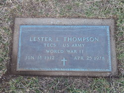 Lester L. Thompson