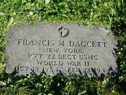 PVT Francis M. Daggett