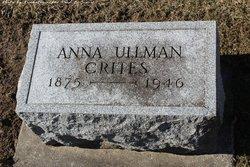 Anna <I>Ullman</I> Crites