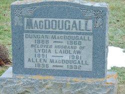Allen MacDougall