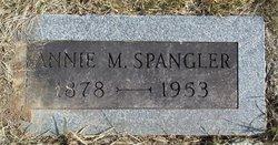 Annie M <I>Cornprobst</I> Spangler