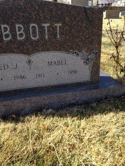 Mabel <I>Jones</I> Abbott