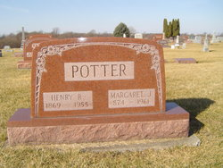 """Margaret Jane """"Maggie"""" <I>Vanatta</I> Potter"""
