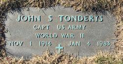 Dr John S. Tonderys