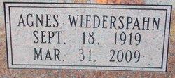 Agnes G. <I>Wiederspahn</I> Ware