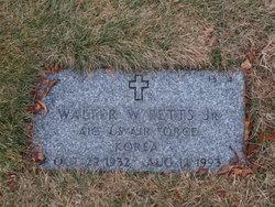 Walter W Betts, Jr