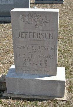 Mary Susan <I>Joyce</I> Jefferson
