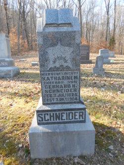 Catherine M. <I>Heman</I> Schneider