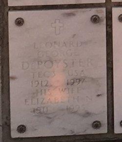 Leonard George Depoyster