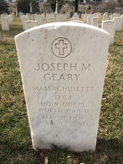Joseph M Geary