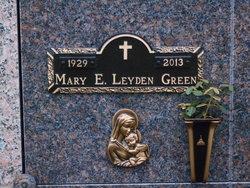 Mary E. <I>Leyden</I> Green
