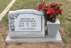 Malcom Lee Gescheidle