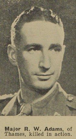 Maj Ronald William Adams