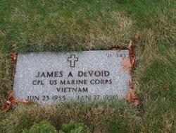 James A Devoid