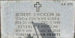 Robert Joseph Fiocchi, Sr
