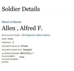 Alfred F Allen