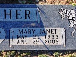 Mary Janet <I>Bradley</I> Winscher