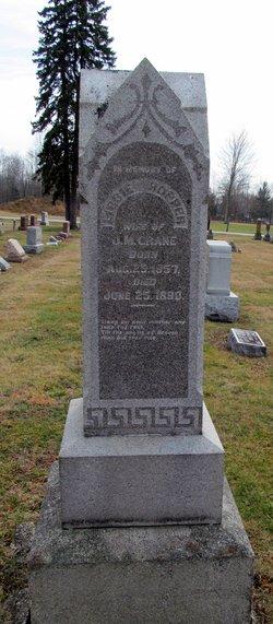 """Elizabeth """"Libbie"""" Hopper Crane (1857-1890) - Find A Grave"""