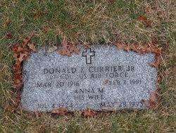 Donald E Currier, Jr