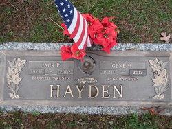 Jack Proffitt Hayden