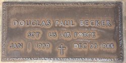 Sgt Douglas Paul Becker