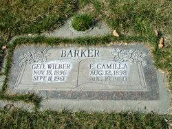 Francis Camilla <I>Bodell</I> Barker