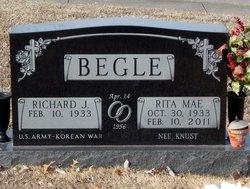 Rita <I>Knust</I> Begle