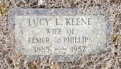 Lucy Lavinia <I>Keene</I> Phillips