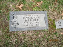 Margie <I>Cannon</I> Balsinger