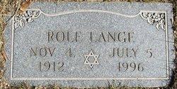 Rolf Lange