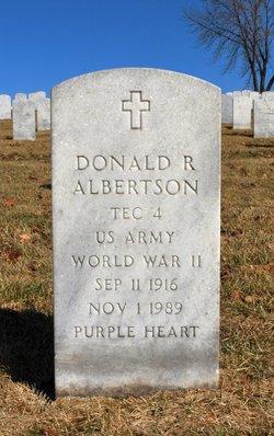 Donald R Albertson
