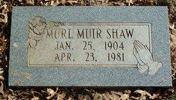Murl Muir Shaw
