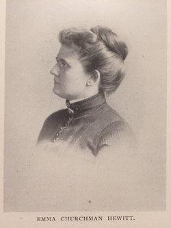 Emma <I>Churchman</I> Hewitt
