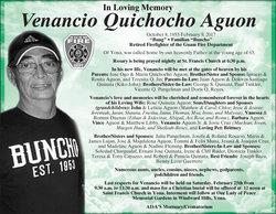 Venancio Quichocho Aguon