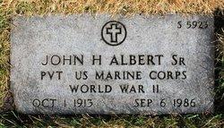 John Henry Albert