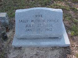 Sally Ruth <I>Waters</I> Prince