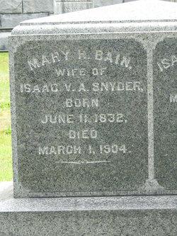 Mary H. <I>Bain</I> Snyder