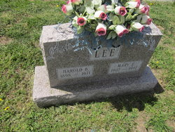 Mary E <I>Baughn</I> Lee