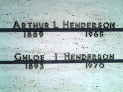 Ghloe Irene <I>Taylor</I> Henderson