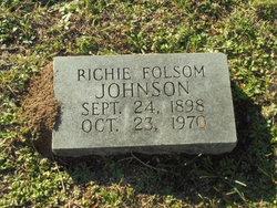 Richie Gordon <I>Boyd</I> Folsom Johnson