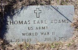 Thomas Earl Adams