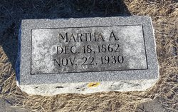 Martha A <I>Blair</I> Davenport