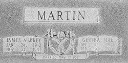 """Gertha Mae """"Peggy"""" Martin"""