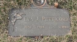 Eva Juanita <I>Buis</I> Petticord