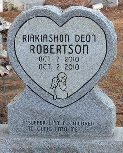 Riakiashon Deon Robertson