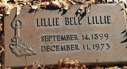 Lillie Belle <I>Slater</I> Lillie