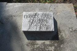Frances <I>Hovey</I> Chapman