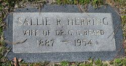 Sallie Rebecca <I>Herring</I> Beard