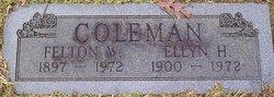 Felton W Coleman