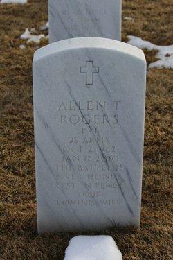 Allen T Rogers